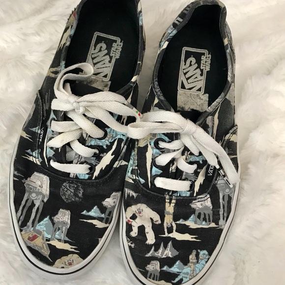 f0c74d0fc81a61 Vans Star Wars Lace Up Sneakers Men s 6 Womens 7.5.  M 5a95c3c33afbbd012f0db5fe